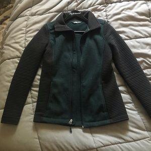 The North Face zip up sweatshirt